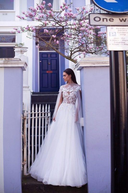 Rochie de mireasa Elle 2019 Milla Nova imaginea 1