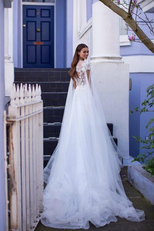 Rochie de mireasa Elle 2019 Milla Nova imaginea 3