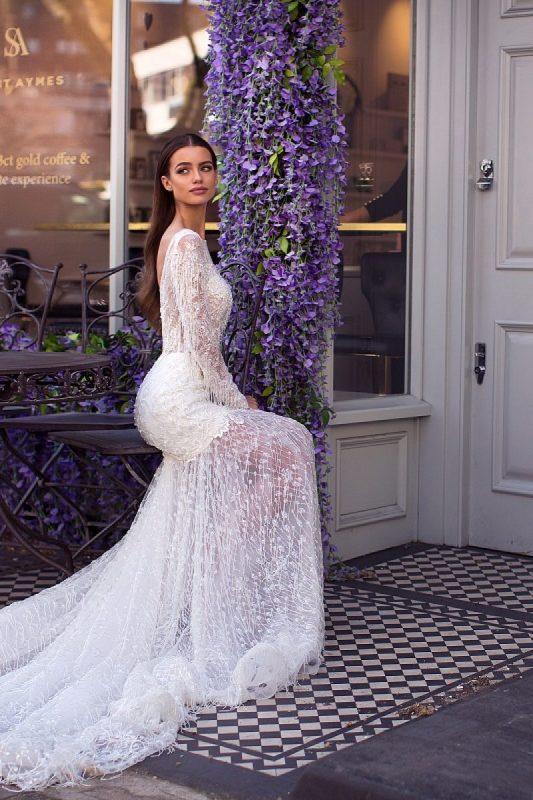 Rochie de mireasa Milla Nova Sheila model 2019 imaginea 4