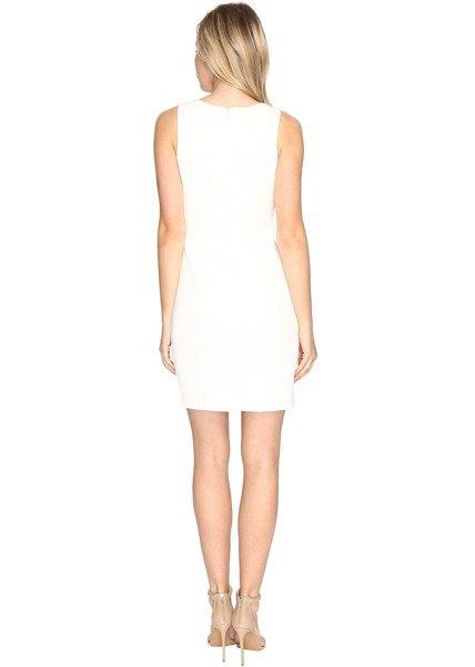 Rochie de Mireasa Scurta Ivory Jessica Simpson Embellished Neck Dress 3